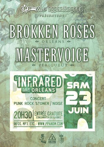 Brokken Roses + Mastervoice