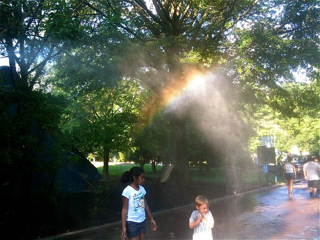―under the rainbow 🌈 👶 💦