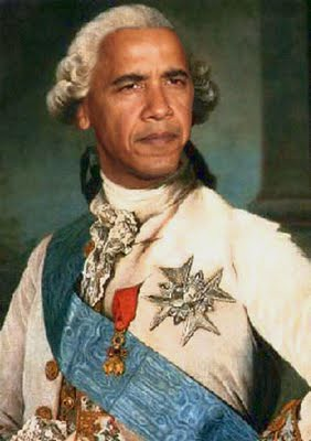 Obama as King George!
