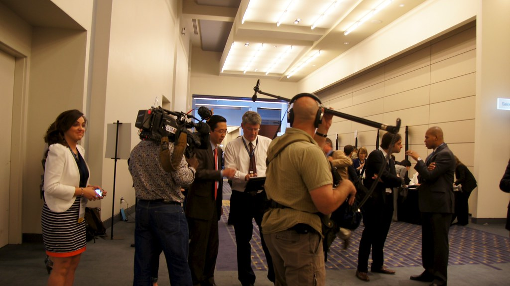A media moment at #healthdata with US CTO Todd Park and The SchoolFit team