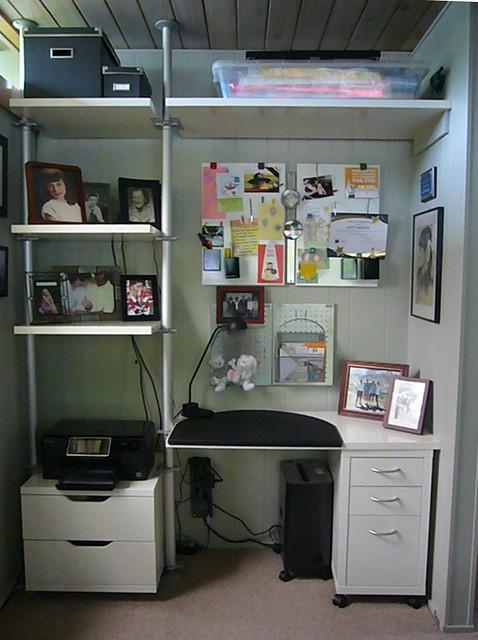 ikea stolmen desk setup rummer homes tour bohmann park flickr photo sharing. Black Bedroom Furniture Sets. Home Design Ideas