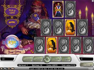 Fortune Teller bonus game