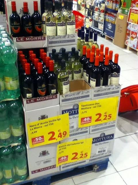 Italian Wine 2 Euro