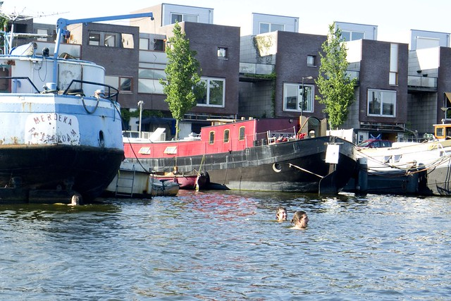 houseboat summer Amsterdam  _4