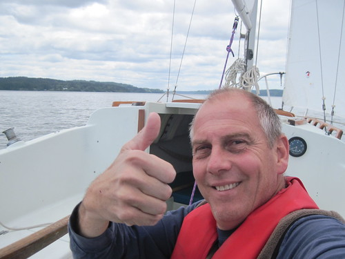 back at the helm for another season by Southworth Sailor