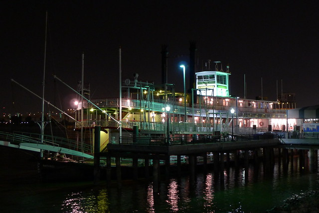 Natchez at night