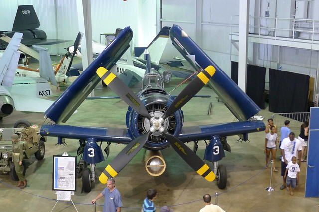 Front: AD-4 Skyraider