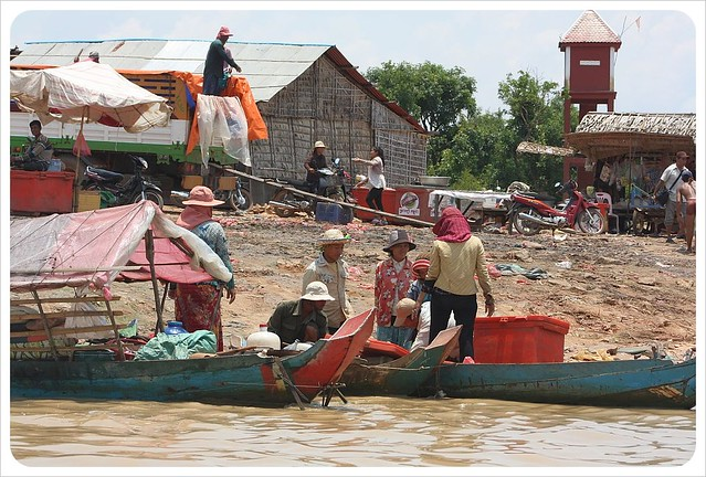 Life On The Water A Floating Village On Lake Tonle Sap In