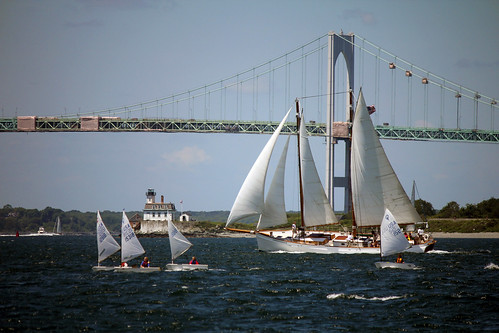 Sail vessels near Newport, RI by nelights
