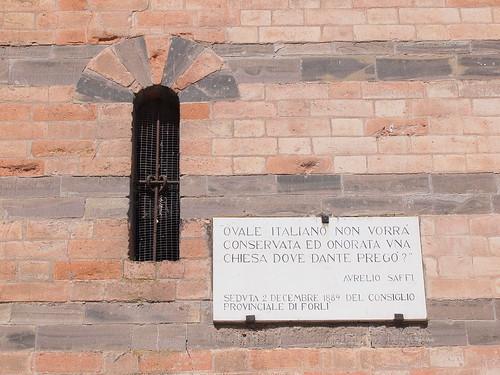 Aurelio Saffi Pieve di San Donato in Polenta by Alessandro Ronchi
