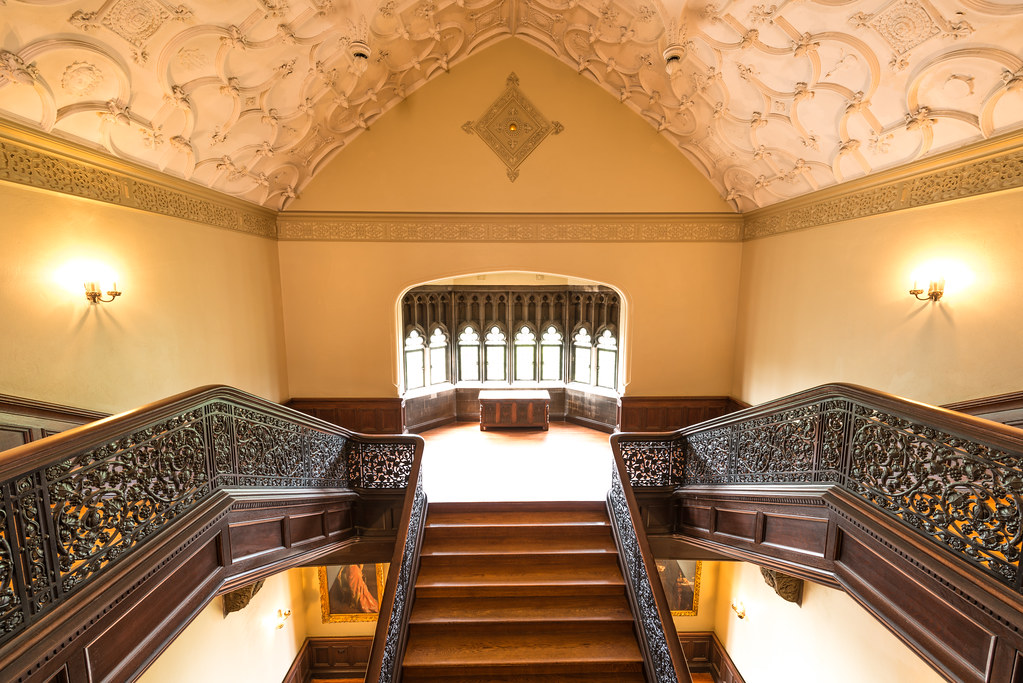 Third Floor Staircase, Ida Noyes Hall