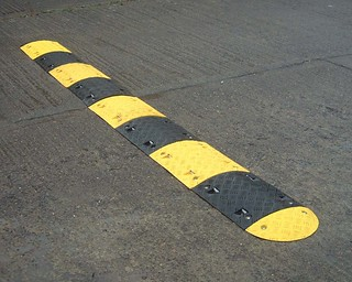 speed bump, problems, life, difficulties,