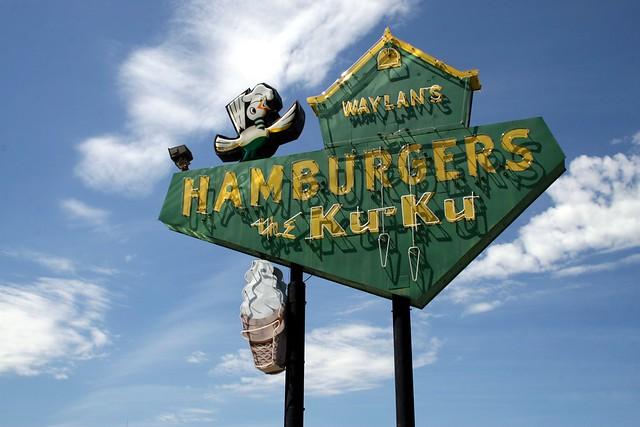 waylan's ku-ku burger neon, Canon EOS 30D, Canon EF-S 18-55mm f/3.5-5.6 USM