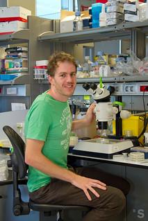 Ben Lehner ganador del premio Banco Sabadell a la investigación Biomèdica