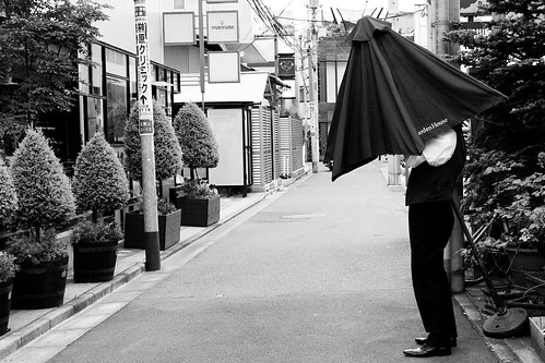 The Umbrella Man.