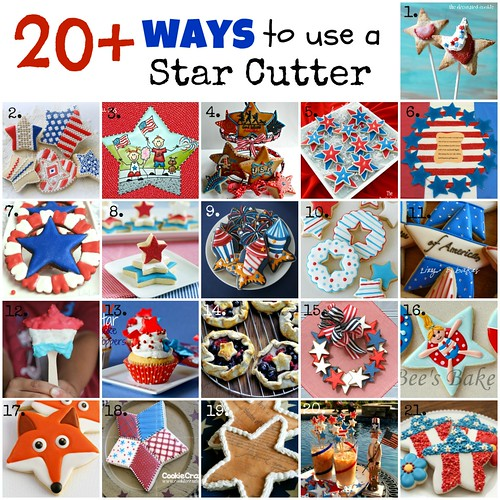 Star Cookie Project Collage