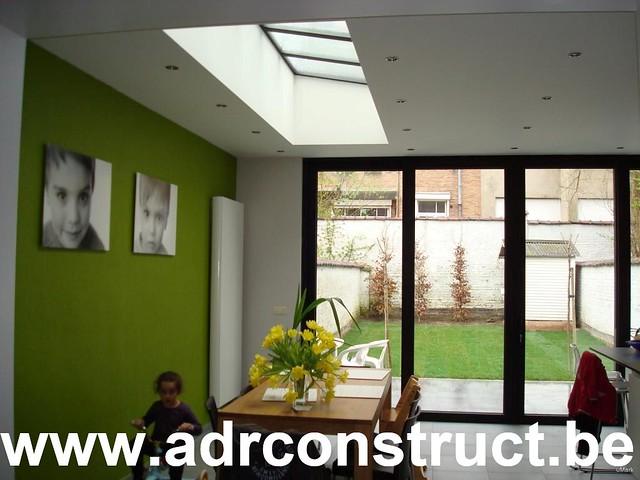 Veranda modern uitbouw keuken binnenaanzicht moderne vera flickr photo sharing - Keuken verandas ...