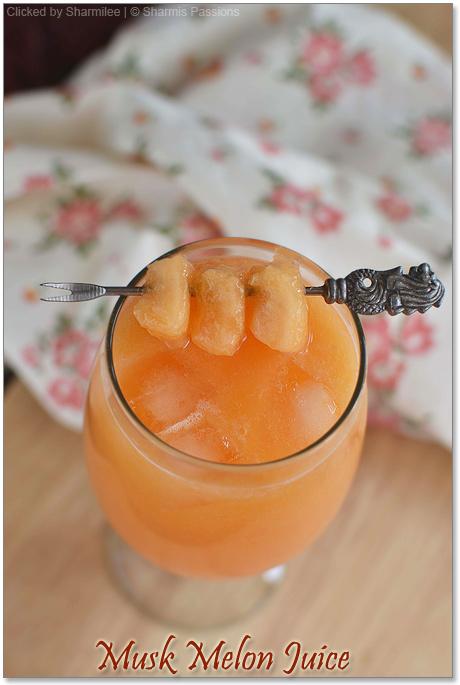 Musk Melon Juice