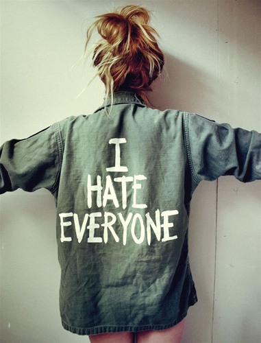 I HATE EVERYONE ARMY JACKET-2