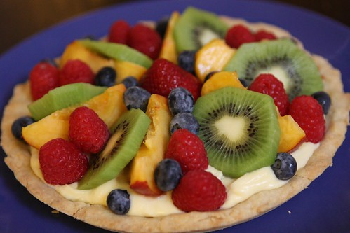 Jen's Birthday Fruit Tart
