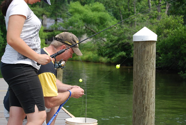 Fishin' fun at Claytor Lake State Park