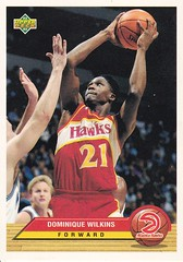 Upper Deck 92-93 Atlanta Hawks Dominique Wilkins