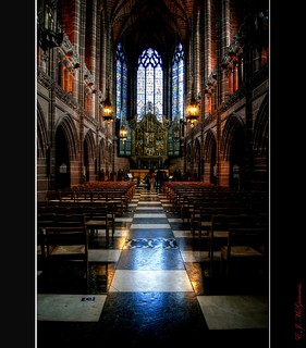 Lady Chapel Liverpool Cathedral.