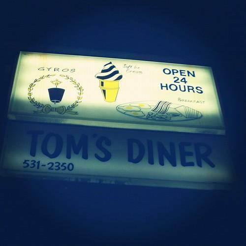 Tom's Diner.