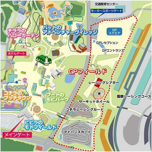 GPフィールドマップ『画像:鈴鹿サーキット』