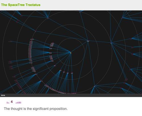 SpaceTree Tractatus app