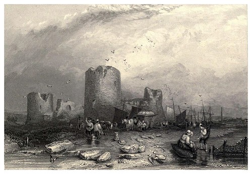 002- Castillo de Flint-Wanderings and excursions in North Wales (1853)- Thomas Roscoe