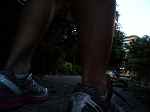 Running Up Mt. Faber, SG