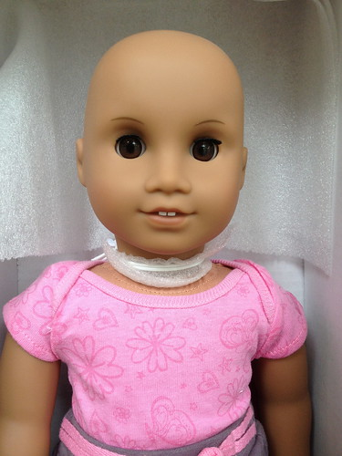 how to clean ag doll skin