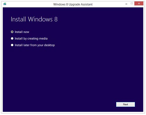 Install Windows 8