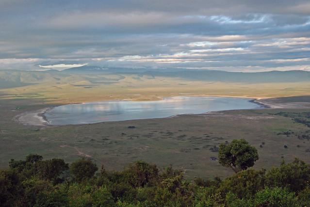 El cráter del Ngorongoro. Tanzania.