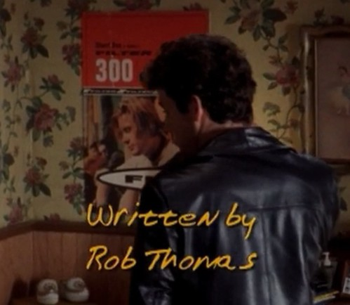 "Dawson's Creek, Filter poster in background, written by ""Rob Thomas"" by christopher575"