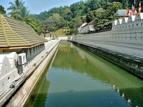 Moat at the Temple