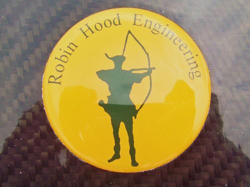 167 Robin Hood Engineering Badge