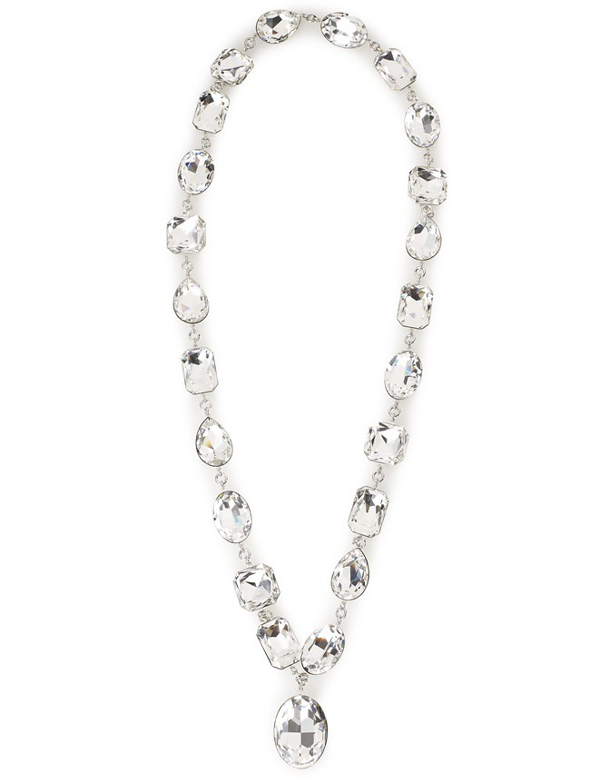 8 Atelier Swarovski Diana Vreeland Legacy Collection Crystal Necklace