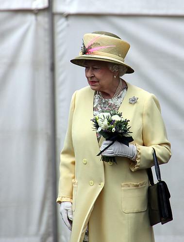 HRH The Queen @ Perth College UHI