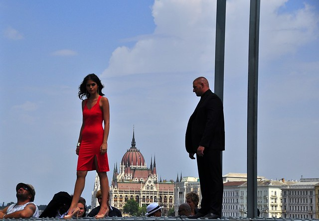 Filming Die Hard 5 in Budapest