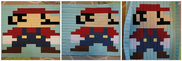 Shrinking Mario!