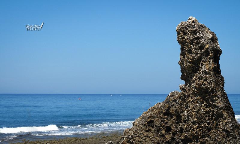望海的觀音石