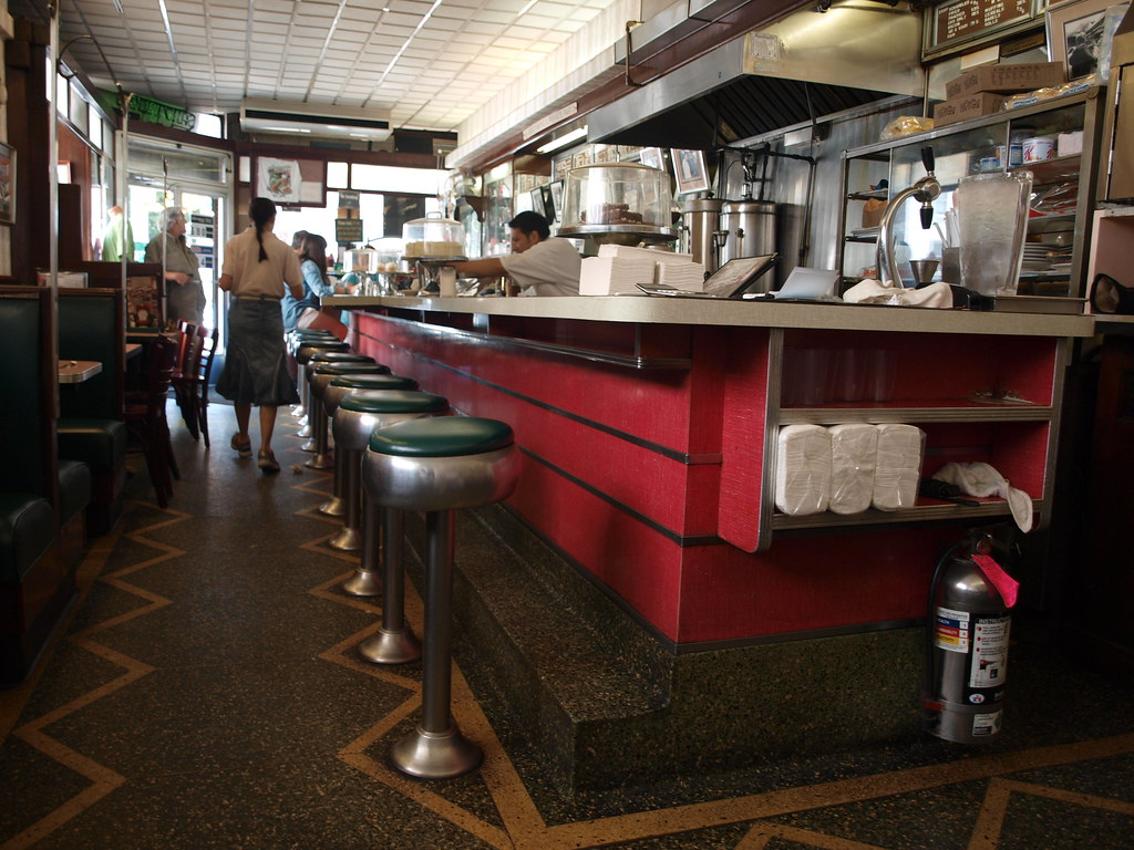 Lexington Candy Shop diner luncheonette, New York City