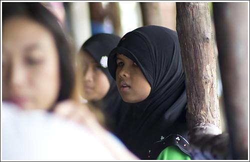 Girl at Bang Rong, Phuket