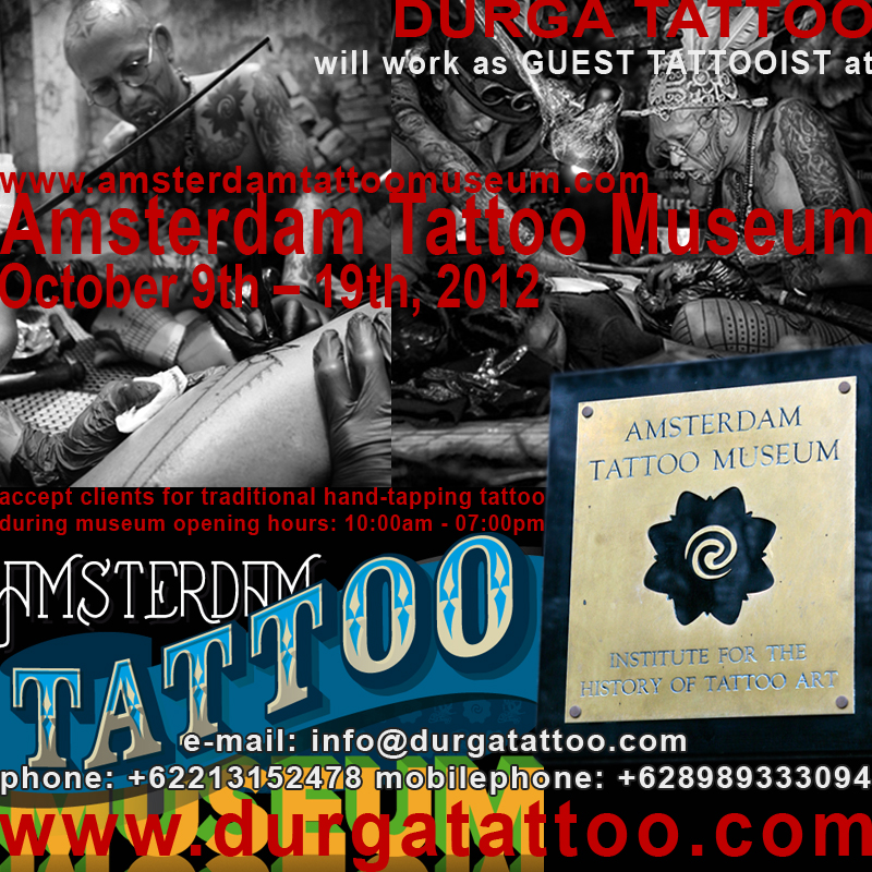 Durga Tattoo At Amsterdam Tattoo Museum Durga Tattoo Will B