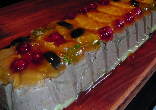 Chicken cointreau and cream terrine by rustumlongpig