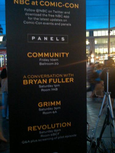 Comic-Con NBC