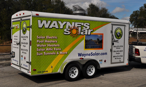 3M trailer wrap designed, printed, and installed at TechnoSigns