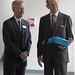Sir Peter Williams with HRH The Duke of Kent